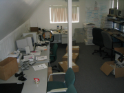Our first office