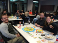 Ann Arbor game night with Settlers of Catan