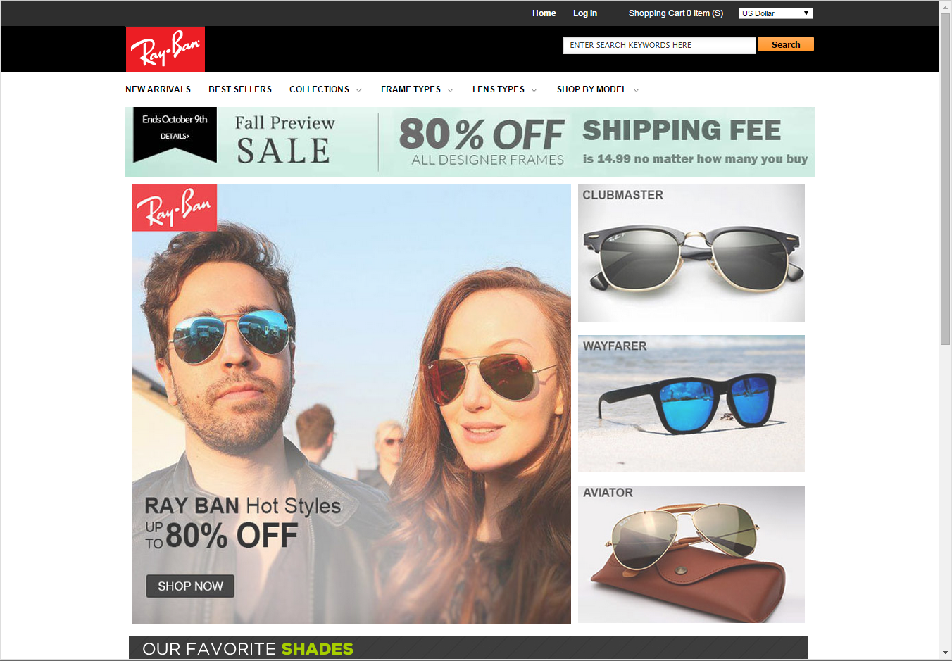 40d716b825265 Facebook Ray Ban Sale Scam « Heritage Malta