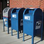 The US Postal Service has a talking blue mailbox