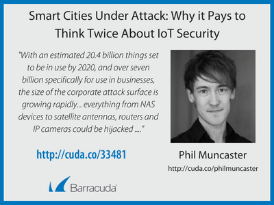 Smart Cities Under Attack: Why it Pays to Think Twice About