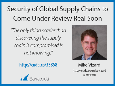 Security of Global Supply Chains to Come Under Review Real Soon