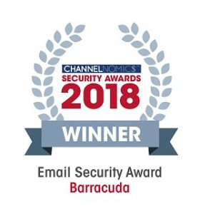 Channelnomics Email Security Award