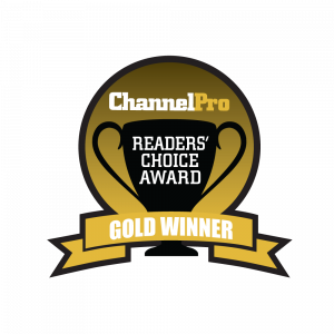 ChannelPro Readers Choice Award Gold