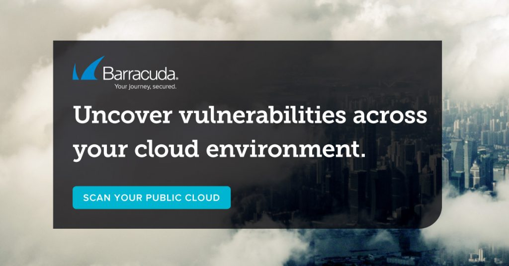 Cloud security scan