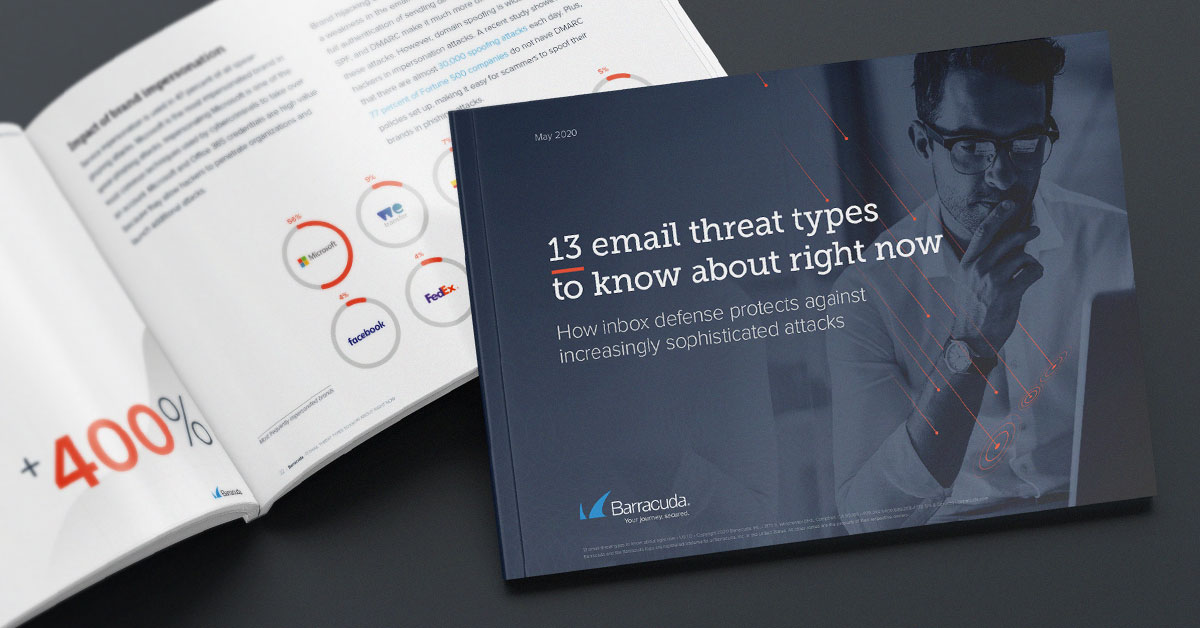 email threat types