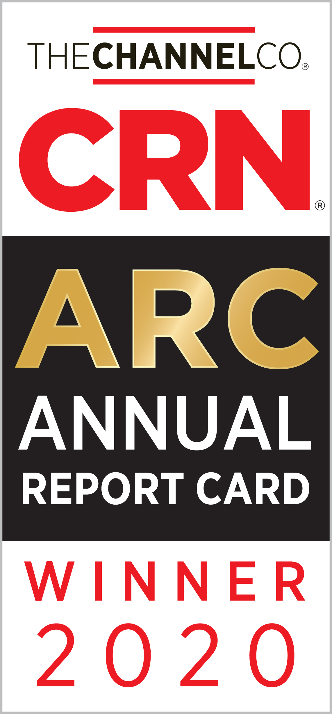 Barracuda Honored as a Winner for Data Protection Software on CRN's 2020 Annual Report Card