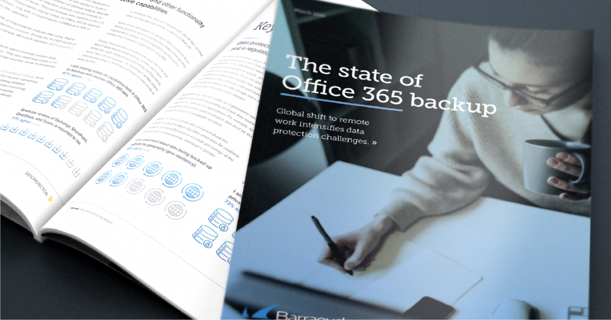 State of Office 365 backup